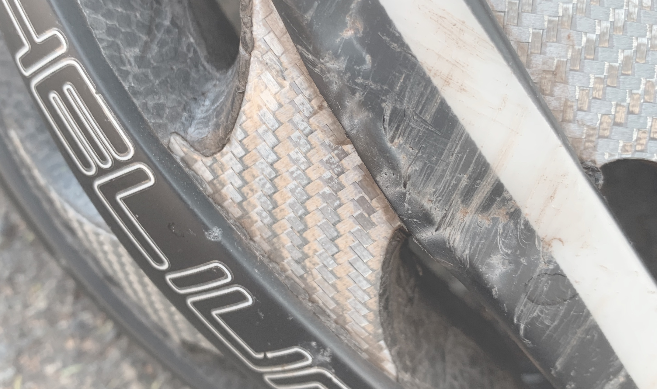 External shell damage is a sure reason to replace your helmet.